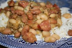 Deep South Dish: Hayes Star Brand Bean Soup Mix - Sausage, Beans & Rice