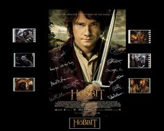 The Hobbit Film Cell Presentation : Movie by Everythingbutthatcom