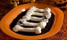 Receta de Huesos de merengue para Halloween