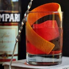 WHY AWARD-WINNING MIXOLOGIST, MARVIN MARTINEZ, THINKS THE NEGRONI IS THE PERFECT COCKTAIL #FWx