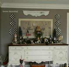 Forever Decorating!: A Bit More Of A MacKenzie Childs Christmas