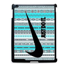 nike aztec mint pattern Case available for iPad 2 3 4, iPad Air, and iPad mini case ! on daizzystuff.com/
