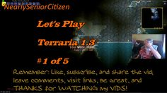 TERRARIA : Let's Play Terraria #1 of 5