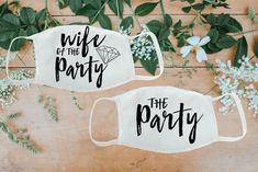 These wife of the party wedding masks are one of our WeddingWire editors' top picks. Click for more wedding mask ideas. Planning your wedding has never been so easy (or fun!)! WeddingWire has tons of wedding ideas, advice, wedding themes, inspiration, wedding photos and more. {Etsy}