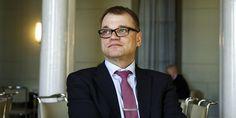 Juha Sipilä Eduskunnassa.