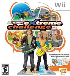 Bandai Namco Entertainment America Active Life Extreme Challenge Bundle With Mat - Nintendo Wii Extreme Challenge, Aces And Eights, Ever After High Games, Bandai Namco Entertainment, Indus, Base Jumping, Wii Games, Wakeboarding, Shopping