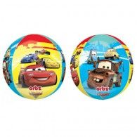 Foil Orbz $29.95 U28403 Wholesale Party Supplies, Car Themes, Printed Balloons, Disney Cars
