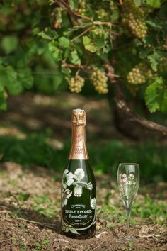"""Each Perrier-Jouët cuvée is fashioned from the 5 principal wines of """"Champagne's magic triangle"""", which form the backbone of the House's vineyards. #perrierjouet"""