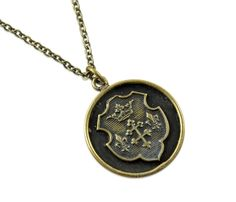 Coat of Arms Seal Necklace