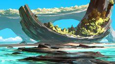 ArtStation - Sea Landscapes, Anton Fadeev