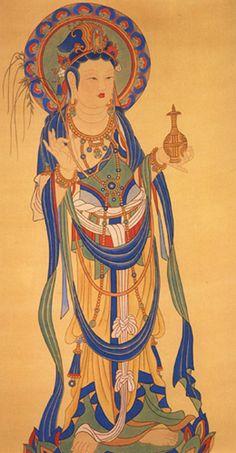 敦煌 盛唐 观音菩萨 (Dunhuang Tang Dynasty: Guanyin)