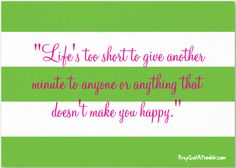 Life is yours!