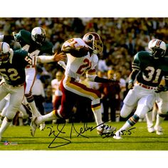 Mike Nelms Washington Redskins Fanatics Authentic Autographed 8'' x 10'' White Run Photograph