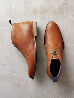 -Hush Puppies 2014 Lookbook- The Hush Puppies Men's Style #Chukka #Boot in Tan
