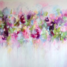 Pink Abstract Floral Painting Print, Floral Giclee Print, Pink Abstract Print, Modern Art Print, Expressive Floral Print by Tamarrisart on Etsy https://www.etsy.com/listing/251053017/pink-abstract-floral-painting-print