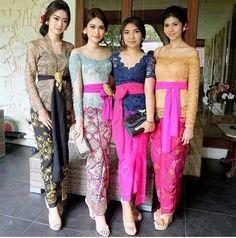 Kebaya khas bali Kebaya Lace, Kebaya Hijab, Kebaya Brokat, Batik Kebaya, Kebaya Dress, Kebaya Muslim, Muslim Dress, Batik Dress, Kebaya Bali Modern