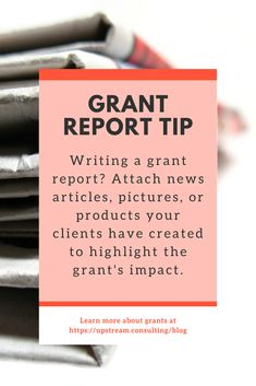Grant Proposal Writing, Grant Writing, Writing Tips, Report Writing, Fundraising Ideas, News Articles, Non Profit, Read More, Management
