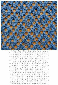Вязание ажур