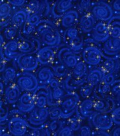 Premium Quilt Fabric-Stars Midnight: