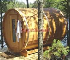 An outdoor sauna... when I win the lottery.