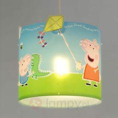 Lampa wisząca Peppa z piękną ilustracją 2507282