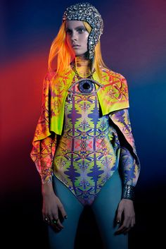 VISION CHINA | Futuristic Style    Photographer: Jenny Brough