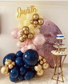 Birthday Balloon Decorations, Balloon Decorations Party, Party Props, Birthday Balloons, Balloon Gift, Balloon Garland, Diy Birthday, Birthday Parties, Festa Hot Wheels