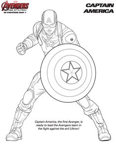 7 Best AVENGERS COLORING images | Coloring pages, Coloring books ...