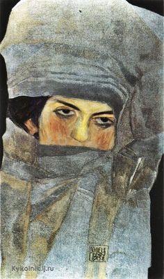 1908 Egon Schiele (Austrian, 1890-1918) «Marie Schiele»