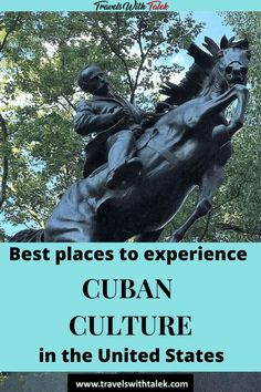 You don't have to go to Cuba to learn about Cuban culture. See the most important places in the USA to experience the culture of this fascinating country. Travel Guides, Travel Tips, Travel Destinations, Cuba Travel, Travel Usa, Cuban Culture, Adventures Abroad, Adventure Activities, Worldwide Travel
