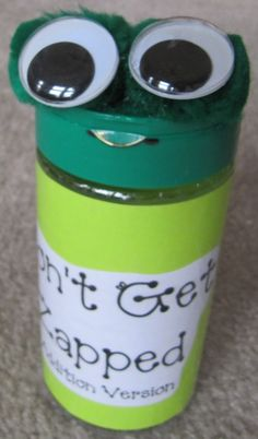 I combined the sweet frog idea from makinglearningfun  to create a container with th...