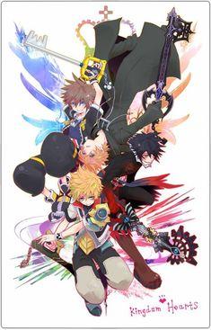 Kingdomhearts anime#