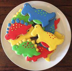 One Dozen Dinosaur Sugar Cookies