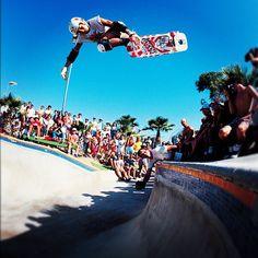 Christian Hosoi, Del Mar Skate Ranch, 1984. Photo: Brittain