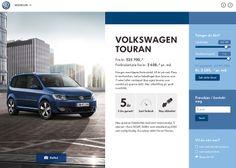 Volkswagen Showroom by TRY/Apt. 13 November, 2013. #webdesign #inspiration #UI #DEVAWWWARD