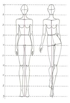Fashion Design Sketches 55732114125542441 - Модуль 1 Фешн фигура – Salvabrani – Source by faerieriu Fashion Drawing Tutorial, Fashion Illustration Tutorial, Fashion Figure Drawing, Fashion Model Drawing, Fashion Drawing Dresses, Fashion Illustration Dresses, Dress Illustration, Fashion Dresses, Medical Illustration