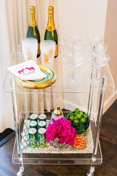 Lucite-Bar-Cart-Acrylic-Clear-Furniture-Lucite-Table-Acrylic-Rolling-Cart-