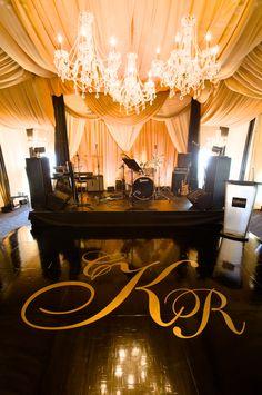 New Ideas Wedding Decorations Gold Dance Floors Wedding Venue Decorations, Wedding Venues, Wedding Blog, Wedding Stuff, Trendy Wedding, Luxury Wedding, Hydrangea Bouquet Wedding, Gold Backdrop, Dance Floor Wedding