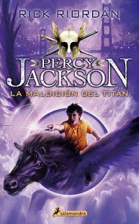 """Crónicas de una Potterhead: RESEÑA#50: """"PERCY JACKSON Y LA MALDICIÓN DEL TITÁN..."""