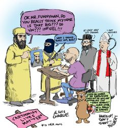 Phil's Funny: Je Suis Charlie News Magazines, Do You Really, Got Him, Album Covers, At Least, Cartoon, Comics, Memes, Funny