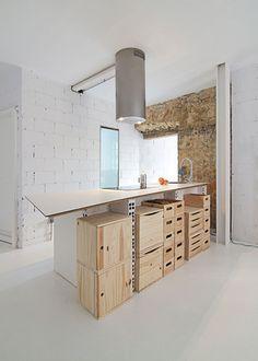 Apartment renovation in Oviedo.
