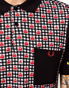 Fred Perry x Pac Man Collection