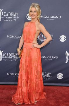 Julianne Hough Dancer Julianne Hough arrives at the 46th Annual Academy Of Country Music Awards RAM Red Carpet held at the MGM Grand Garden ...