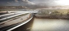 Melike Altınışık Architects Wins First Mention in Competition for Kızılırmak Bridge in Turkey