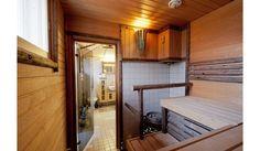 Heinäseipäiden käyttöä saunassa Villa, Cottage, Craft, Life, Creative Crafts, Do Crafts, Cottages, Cabin, Needlework