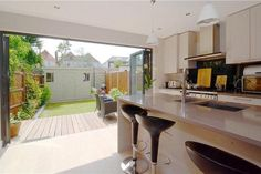 kitchen extension - love the breakfast bar