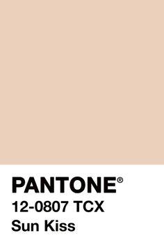 Pantone swatches