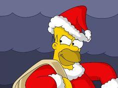 Los Simpsons en Navidad 1024