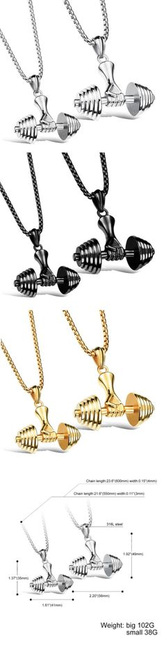 Dumbbell & Hand Necklace! Click The Image To Buy It Now or Tag Someone You Want To Buy This For. #weightlifting