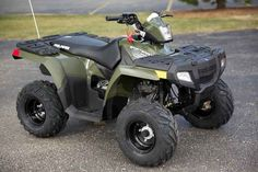 New 2016 Polaris Sportsman 110 EFI Sage Green ATVs For Sale in Wisconsin. 2016 Polaris Sportsman 110 EFI Sage Green, 2016 Polaris® Sportsman® 110 EFI Features May Include Electronic Fuel Injected (EFI) 110 cc Engine EFI for consistent starting, improved idle quality, and a crisp linear throttle response Parent Adjustable Speed Limiting Easily select from a 15 MPH restricted mode, or unrestricted 29 MPH based on rider skill level. EFI provides more accurate speed control in all operating…